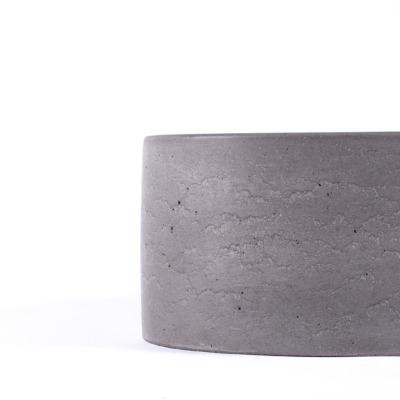 Betonové umyvadlo MONO - ovál (natural)