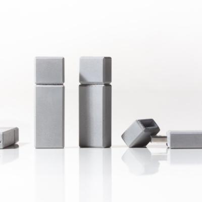 betonový USB flash disc