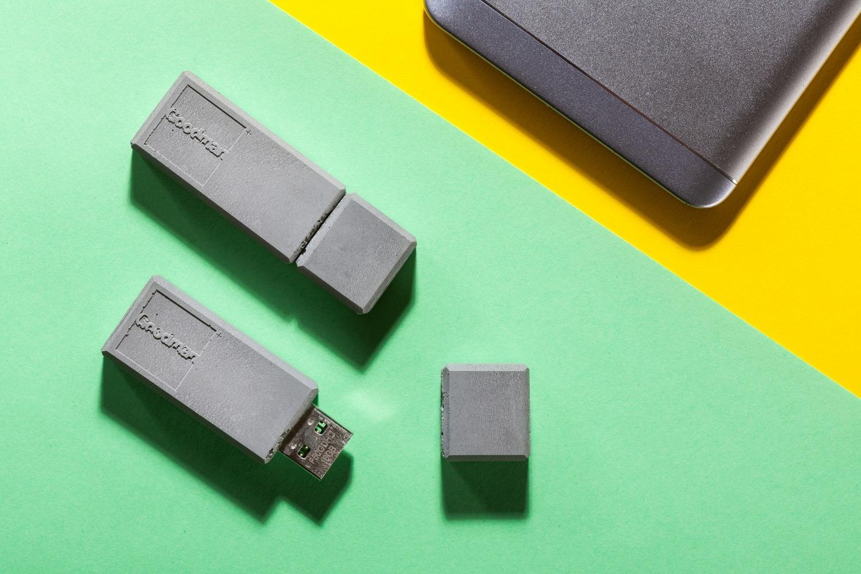 USB art betonová fleshka